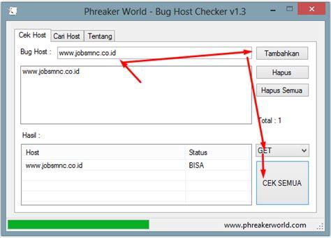 bug host bug host checker v1 3 trikalloperator