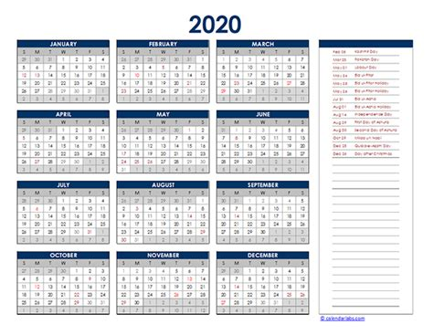 pakistan yearly excel calendar  printable templates