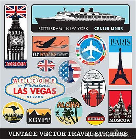 Koffer Sticker Berlin by Suitcase Stickers Vector Set By Marcel De Grijs Via