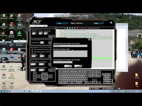 tutorial buat gamers point blank setting mouse macro x7 spider sg awp
