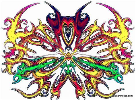 Kalung Etnik Motif Dayak 02 desain gambar khas etnik dayak untuk sablon t shirt