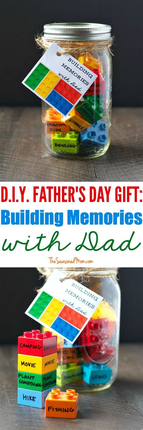 diy s day gifts diy s day gift building memories with the