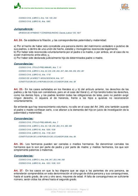 codigo civil del ecuador 2016 para descargar codigo civil ecuatoriano 2016 pdf napoleonic code