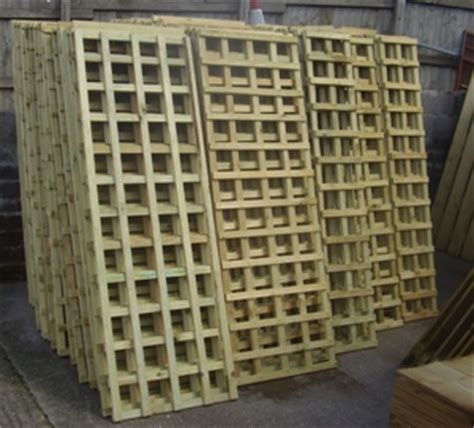 3 Metre Trellis Panels Fencing