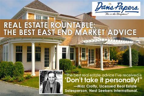 real estate roundtable the best east end market advice