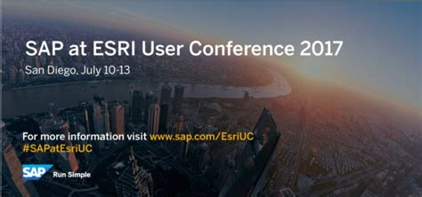 Best Conference Giveaways 2017 - sap analytics sap analytics at the esri user conference top sessions giveaways