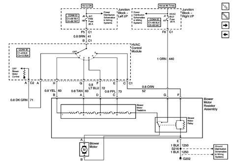 Wiring Diagram For Blower Motor Resistor Webtor Me