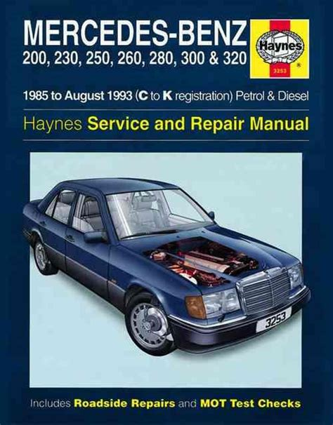 mercedes benz w124 series repair manual 1985 1993 haynes 3253 mercedes benz w124 series petrol diesel 1985 1993 0857339486 9780857339485 haynes