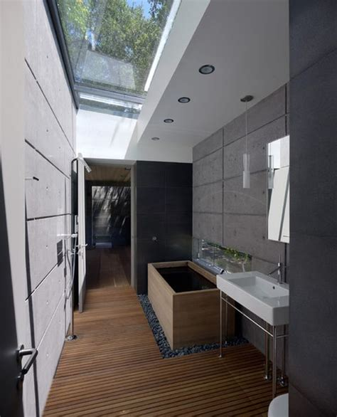 skylight in bathroom six stunning uses of skylights in bathrooms