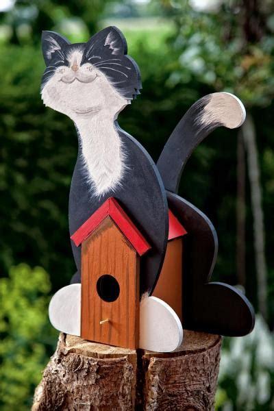 Katze Aus Holz by Deko Vogelhaus Quot Katze Quot Mdf Holz Vbs Hobby Bastelshop