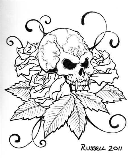 skull coloring pages cool skull coloring pages kids