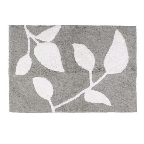 Grey And White Bathroom Rugs Grey And White Trellis Bath Rug Bathroom Decoration