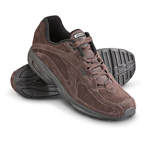 avia shoes s avia 174 a352 walking shoes chocolate 165072