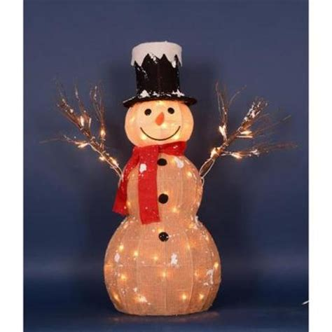 outdoor lighted snowman decorations reloc homes