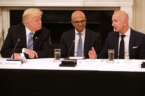 amazon owner president trump wants a sweeping transformation of