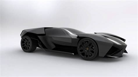 Lamborghini Concept Ankonian by German Student Presents 2016 Lamborghini Ankonian Concept