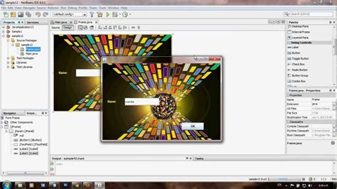 jframe tutorial in netbeans how to add an image to jframe in netbeans mp4 youtube