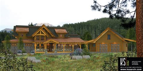 the kalispell floor plan by canadian timber frames ltd