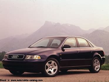 1996 audi a4 2 8 since mid year 1995 for america u