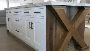 x based kitchen island transitional kitchen