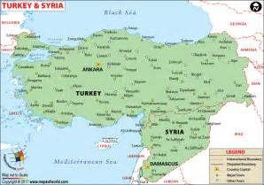 Turkey Syria Map by Turkey On Map Images