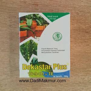 Pupuk Majemuk Untuk Cabe jual pupuk daun dekastar plus 100 gram harga termurah