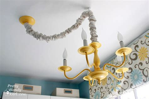 how to hang chandelier how to swag a light fixture pretty handy girl