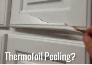Peeling Thermofoil Cabinets Thermofoil Cabinet Door Repair Thermofoil Cabinet Doors