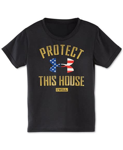 Armour Protect This House by Armour Boys Protect This House T Shirt