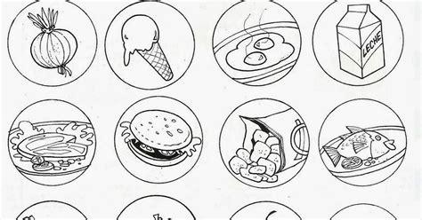 dibujo alimentos pinto dibujos alimentos saludables y alimentos chatarra