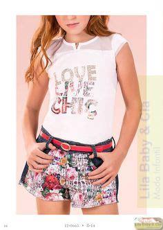 Fashion Anak Dress Kid Agatha Benhur Ds blusa shorts saia moda infantil diforini 120995 diforini shorts and moda