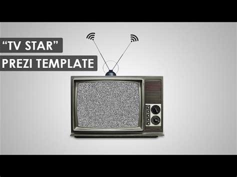 Tv Star Prezi Template Youtube More Prezi Templates