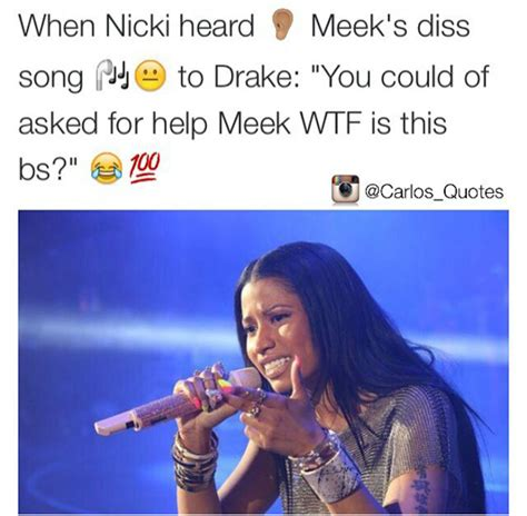 Diss Meme - fans respond to meek mills diss track with funny memes lol