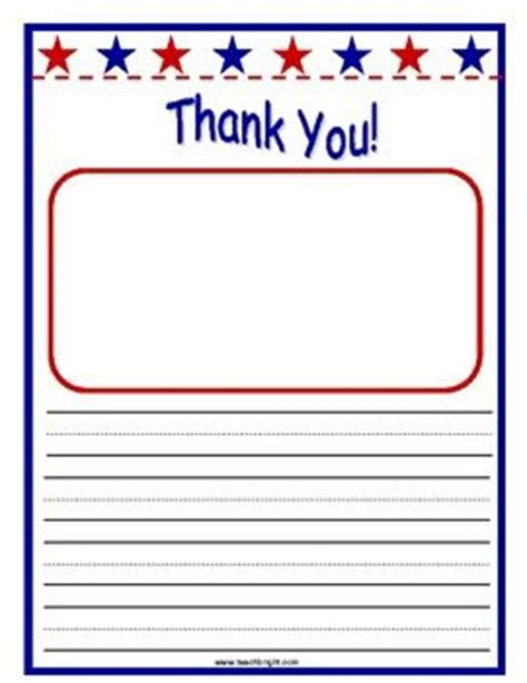 Thank You Letter Template 2nd Grade Veterans Day Thank You Letters Iteach Veteran S Day Patriots And