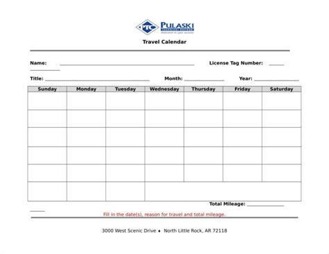 Sample Of Travel Itinerary Templates