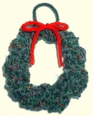 knitting pattern christmas garland knitted christmas wreath ornament pattern holiday