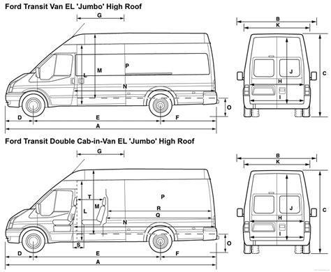 House Blueprint Ideas Cargo Van Interior Dimensions