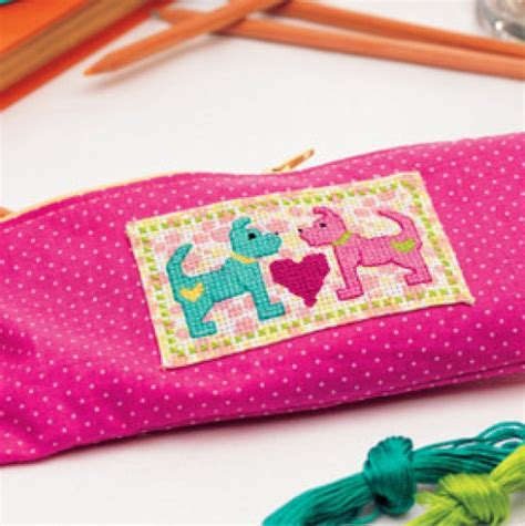 pattern sewing pencil case cross stitched pencil case free sewing patterns sew