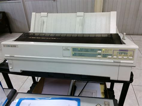 Printer Epson Lq 1170 menambah printer epson lq 1170 dengan cups panduan blankon