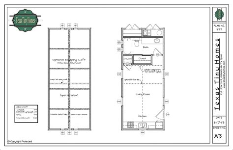 tiny texas houses floor plans texas tiny homes plan 377