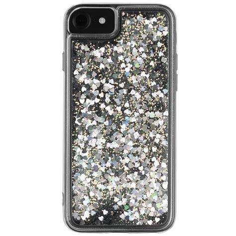 Glitter Instinct Iphone All Hp intempo glitter iphone 6 7 phone white silver b m