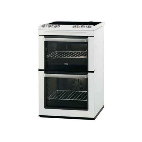 Oven Zanussi zanussi oven cooker with ceramic hob zcv554mw