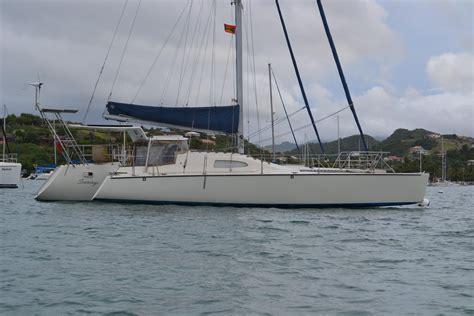 trimaran sailboat 1997 skip johnson custom design trimaran sail boat for