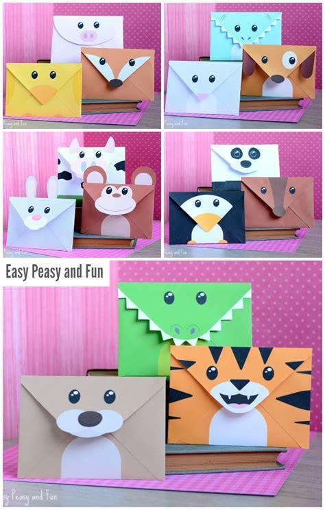 printable animal envelopes free printable silly animals envelopes easy peasy and fun