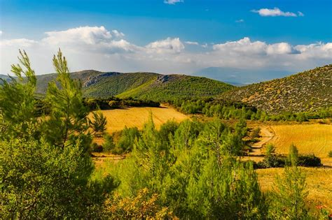 Landscape Pictures Of Greece Free Photo Greece Landscape Scenic Free Image On