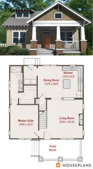 craftsman cottage floor plans best 25 small house plans ideas on small home