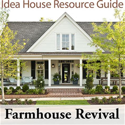 farmhouse revival house plan farmhouse revival southern living house plans