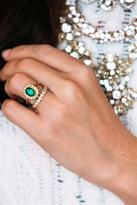 25 best ideas about emerald engagement rings on