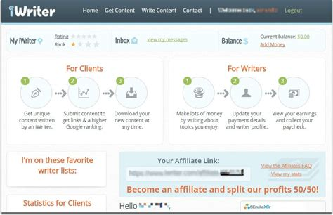 Make Money With iWriter: Writing Articles For Cash