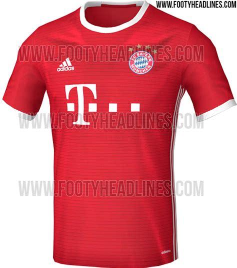 leaked bayern munich s home kit for 2016 17 101 great goals